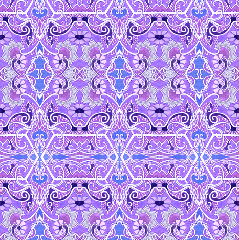 Let Purple Do What It Likes fabric by edsel2084 on Spoonflower - custom fabric