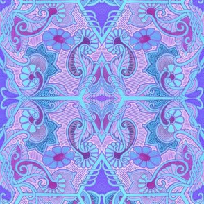 Pink and Blue and Paisley Too