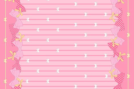 Puella Magi Lolita - Madoka fabric by sparklepipsi on Spoonflower - custom fabric