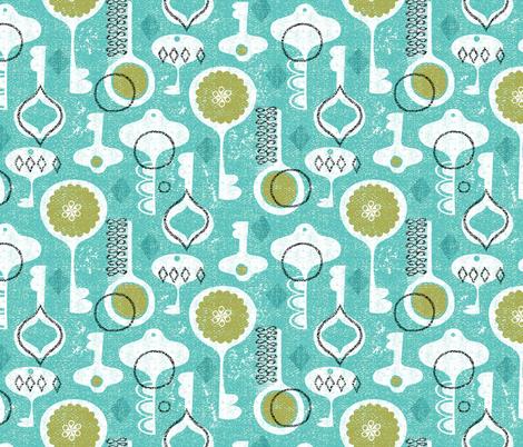 keys fabric by ottomanbrim on Spoonflower - custom fabric