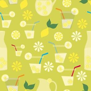 Retro Lemonade party