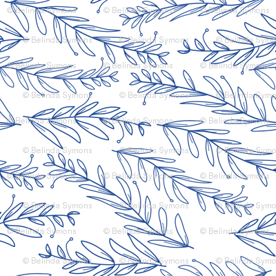 Floral_navy_wallpaper-05_preview
