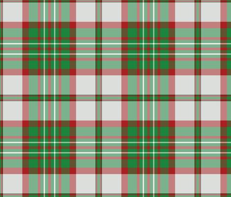 Scott clan dress tartan fabric by weavingmajor on Spoonflower - custom fabric