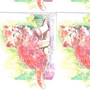 Cat in watercolor.