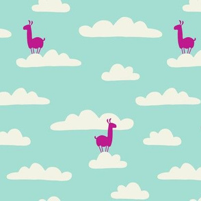 Llama in the clouds