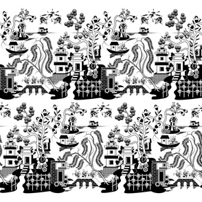 Goo-Willow-overall-tiled-black-on-white