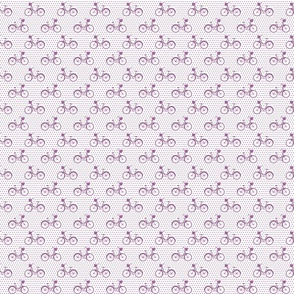 Orchid Bicycle Polka small scale