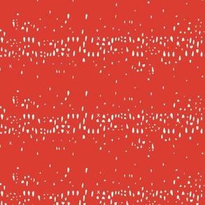Swell Summer Dot Stripes Orange