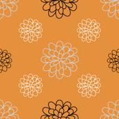 Floral Series Orange