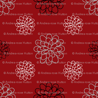 Floral Series Red