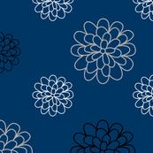 Floral Series Blue