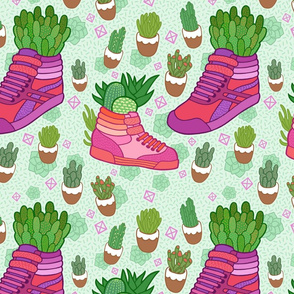 Succulent Sneakers