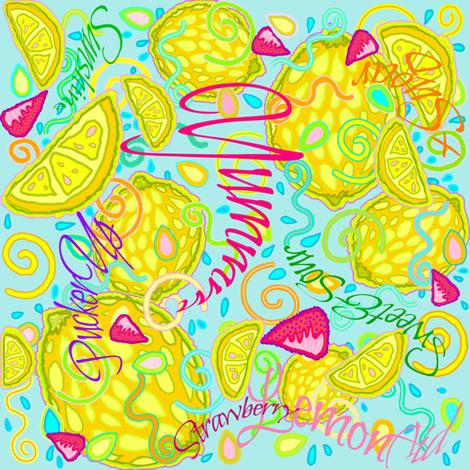 LemonAid_Yum_2 fabric by monaharris on Spoonflower - custom fabric