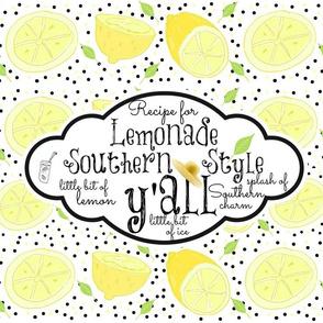 Lemonade recipe hat -yall southern charm