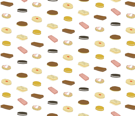 biscui biscuit pattern fabric by emmamethod on Spoonflower - custom fabric