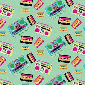 Boombox/mixtape/nostalgia