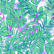 Rain Forest - Teal