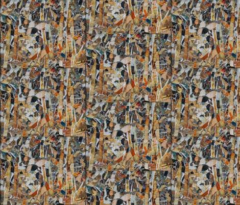 Boggy_Collage_Zoo fabric by boggy_textiles on Spoonflower - custom fabric