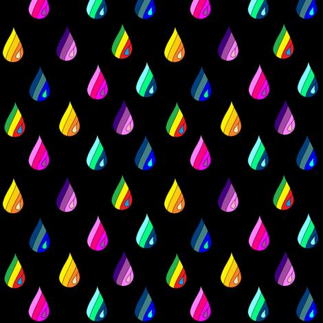 Rainbow_Raindrops2 fabric by b2b on Spoonflower - custom fabric