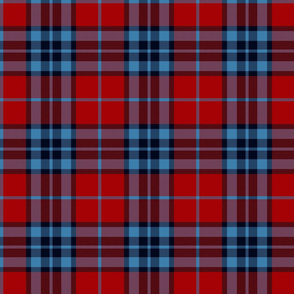 Thomson / Thompson / MacTavish tartan - red