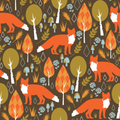 The Offbeat Argyle Fox - Large Scale