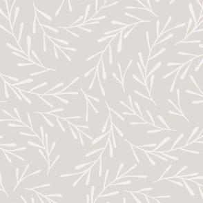 Warm Grey Sprigs