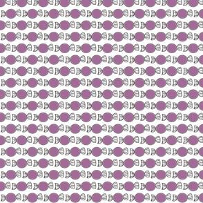 Grape lollies