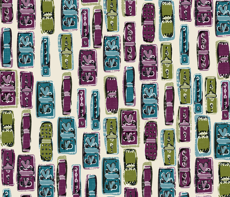 lipstick love fabric by scrummy on Spoonflower - custom fabric