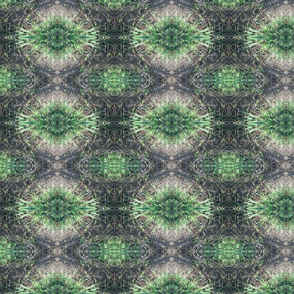 Spiky Green Ikat  (Ref. 3348)