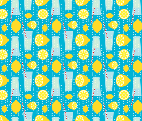 Fizzy Whizzy Busy Bubbles fabric by seesawboomerang on Spoonflower - custom fabric