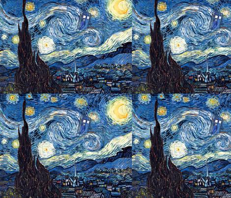 Shining Burning Bursting (12x9.5) fabric by studiofibonacci on Spoonflower - custom fabric