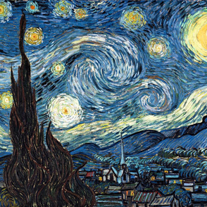 Van Gogh - The Starry Night (1889) (29x36)