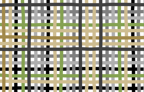 Weaving with neutrals fabric by alicehamptondickerson on Spoonflower - custom fabric
