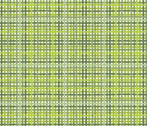 Weaving with green - small fabric by alicehamptondickerson on Spoonflower - custom fabric