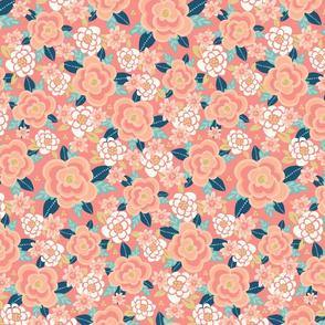 PeachNavy_Floral1