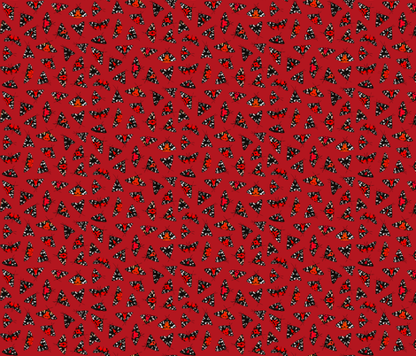 Scarlet Tiger Red fabric by thomas_henderson on Spoonflower - custom fabric