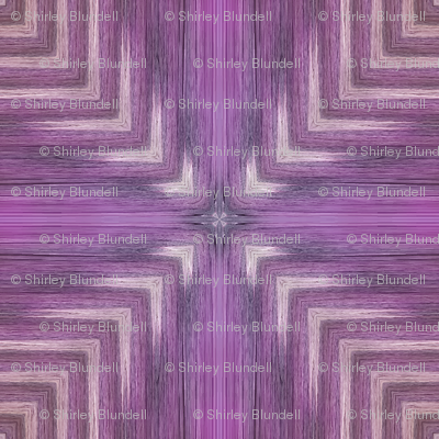 Bargello purple