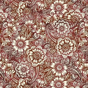 Indian style pattern
