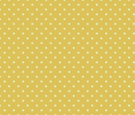 Dotted Yellow fabric by lara-in-technicolor on Spoonflower - custom fabric