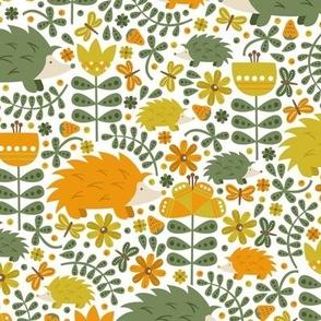 Autumn Hedgehog Fields