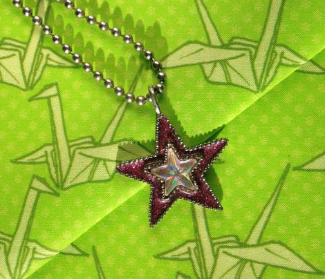 Paper Crane - Green