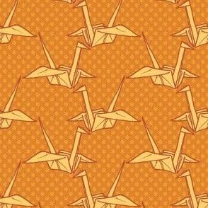 Paper Crane - Orange