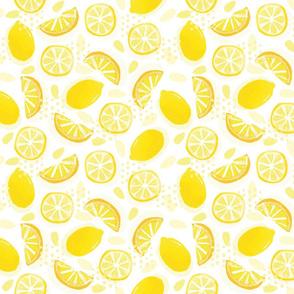 My kitchen bench after lemonade