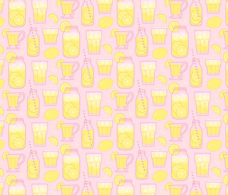 Sweet Lemonade fabric by magentayellow on Spoonflower - custom fabric