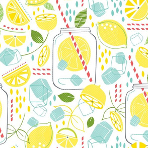 Summer Sippin' - Lemonade Large Scale