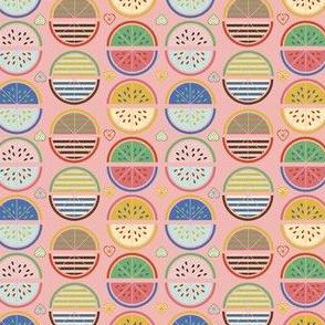 Lemonade - lemon watermelon summer heart seeds spring sunshine warm vacation girls sweet nursery kids food kitchen vintage