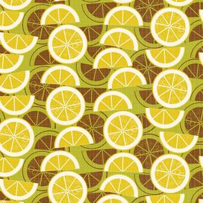 lemonade on green