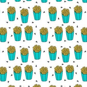 french fries // tiny french fries junk food fast food kids