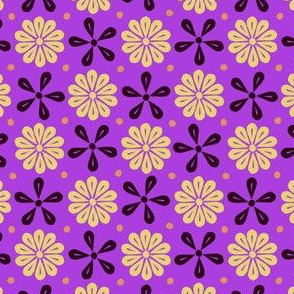 Peoria Re - Flowers (Violet)