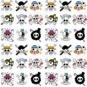 Anime Pirate Flags - medium